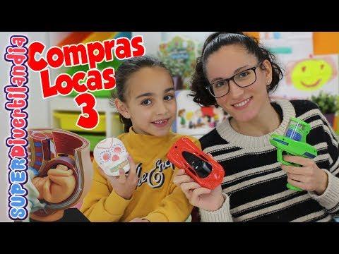 Compras Locas 3! SUPERDivertilandia con Andrea y Raquel.