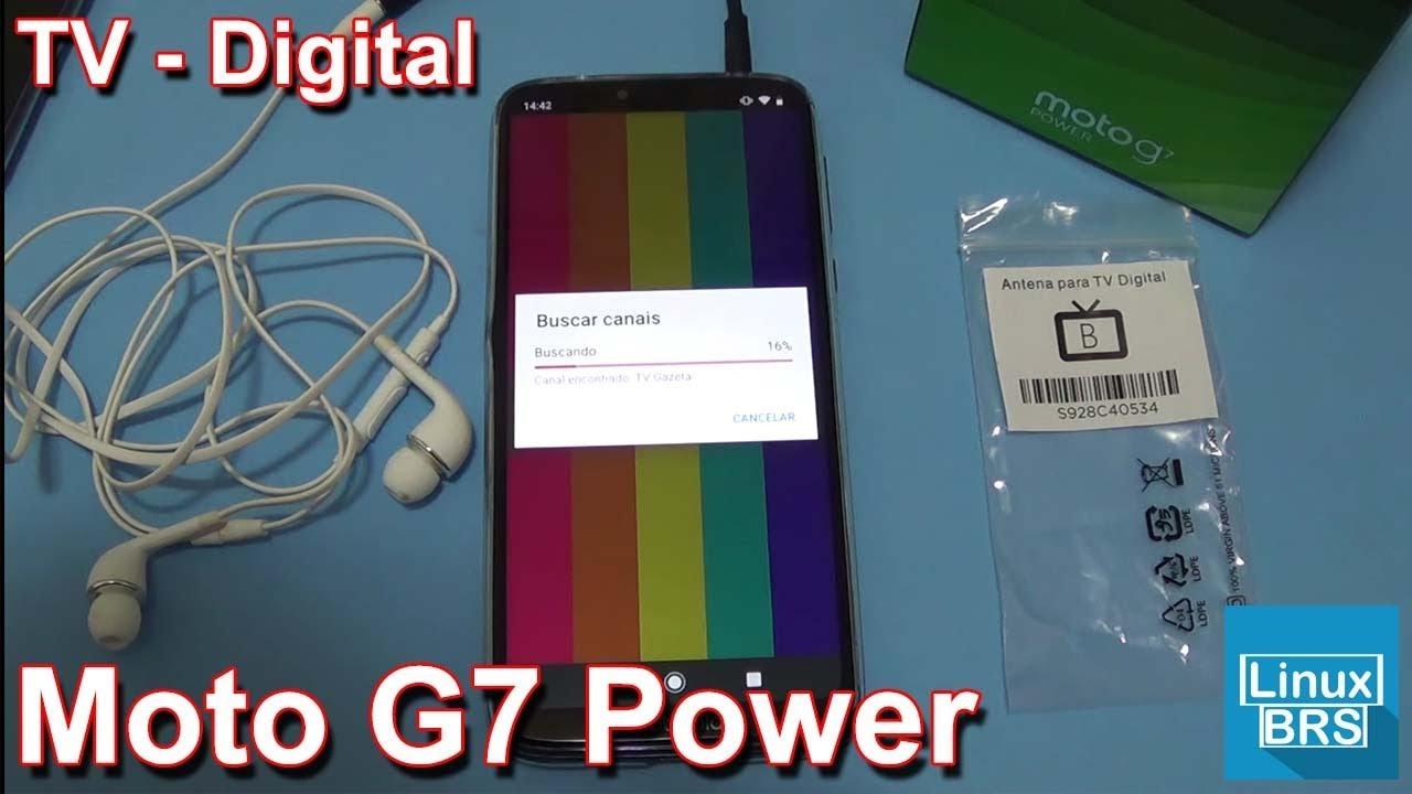 🔘 Motorola Moto G7 Power – TV DIGITAL