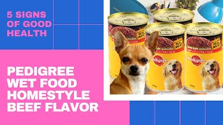 PEDIGREE ADULT WET FOOD | HOMESTYLE BEEF FLAVOR 400g | TAGALOG