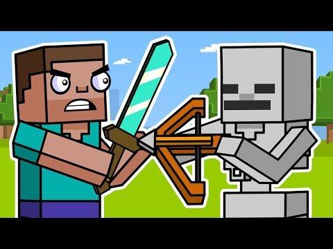 Block Squad: Minecraft Survival Mode (Animation Compilation) | ArcadeCloud