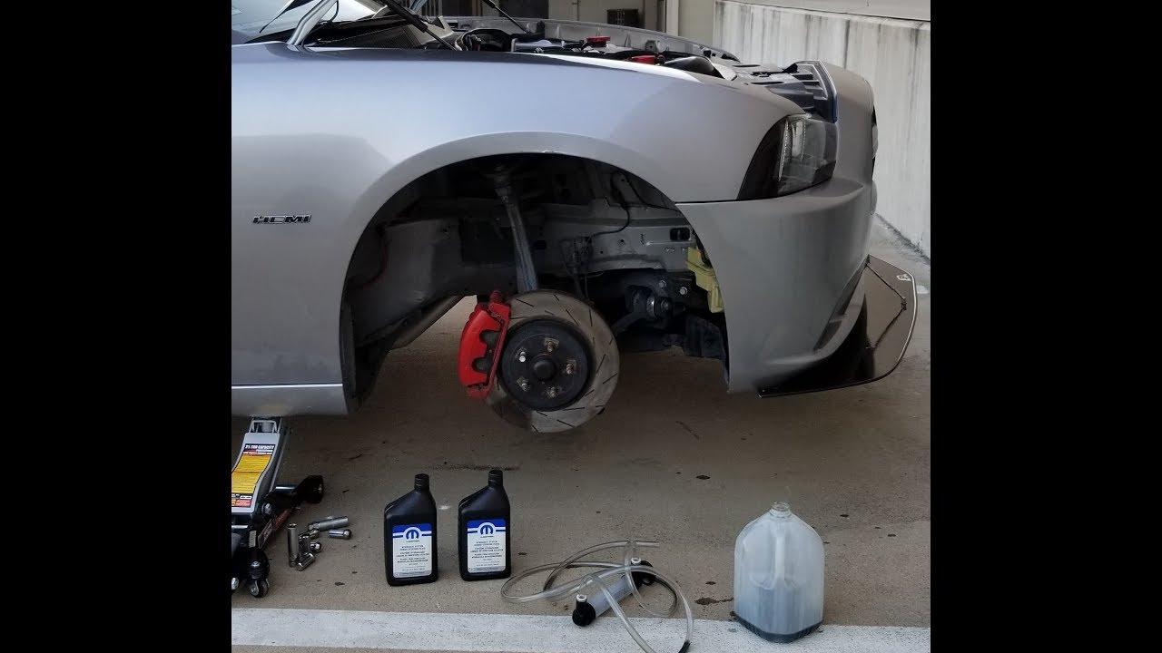 Power Steering Fluid Flush Dodge Charger Hemi Youtube
