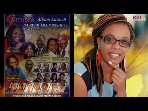 RAHAB MUTHAKI HOSTS NAOMI KARANJA IN SEATTLE ALBUM LAUNCH