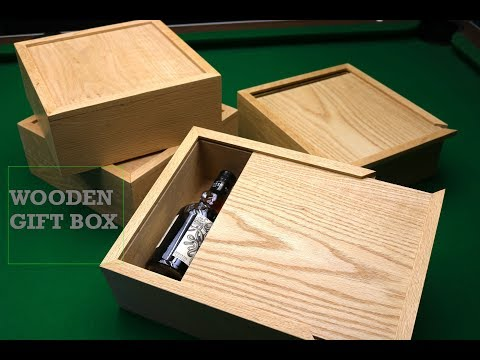 HOW TO: Building a wooden sliding lid groomsmen gift box from oak, Tips and tricks