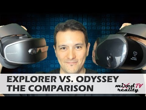 Samsung Odyssey vs. Lenovo Explorer Comparison - Which Is The Best Windows Mixed Reality Headset?