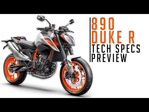 2020 KTM 890 Duke R   Preview