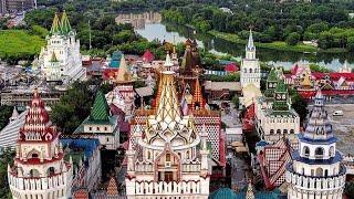 Фото Влог 171. Измайловский Кремль в Москве. Достопримечательности Москвы.