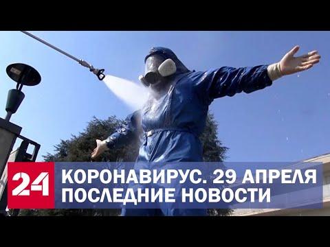 Коронавирус в России и мире. Последние новости. Сводка за 29 апреля