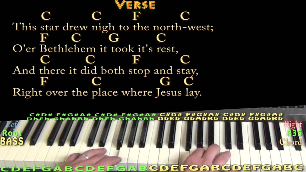 The first noel piano cover lesson in c with chordslyrics youtube the first noel piano cover lesson in c with chordslyrics hexwebz Gallery