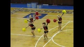 Чемпионат Украины по черлидингу 05.03.16 (2 место)