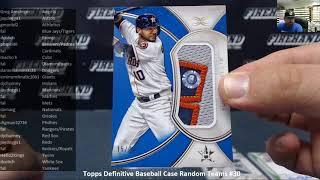 8/17/2018 Topps Definitive Baseball Case Random Teams #30