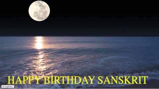 Sanskrit   Moon La Luna - Happy Birthday