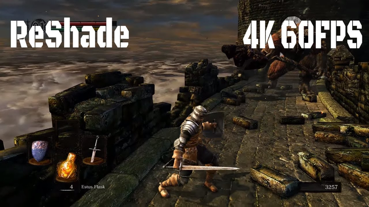 Dark Souls: Remastered (2018) 4K 60FPS HDR ReShade First