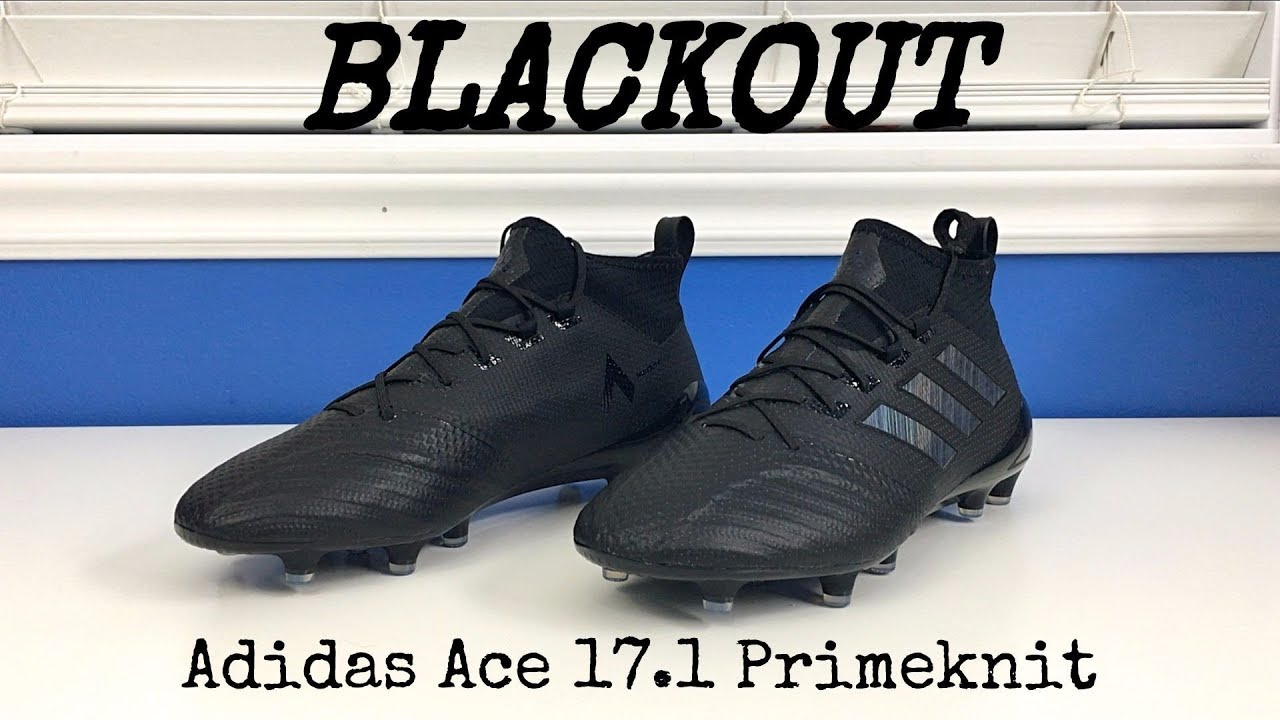 sports shoes 80001 19640 Adidas Ace 17.1 Primeknit (Triple Black) - Unboxing, Review & On Feet