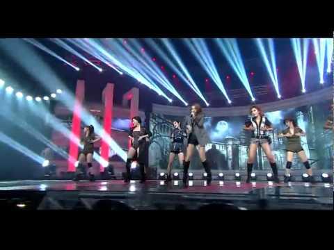111009 Brown Eyed Girls - Sixth Sense | LIVE @ INKIGAYO
