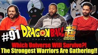 Dragon Ball Super ENGLISH DUB - Episode 91 - Group Reaction