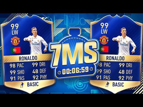 RONALDO  *MANCHESTER UNITED* 7 MINUTE SQUAD BUILDER!!! - FIFA 17 ULTIMATE TEAM