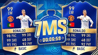 RONALDO  *MANCHESTER UNITED* 7 MINUTE SQUAD BUILDER!!! - FIFA 17 ULTIMATE TEAM thumbnail