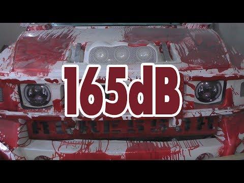 видео: В гостях у car music 01 обзор хаммера ural 165+db  spl
