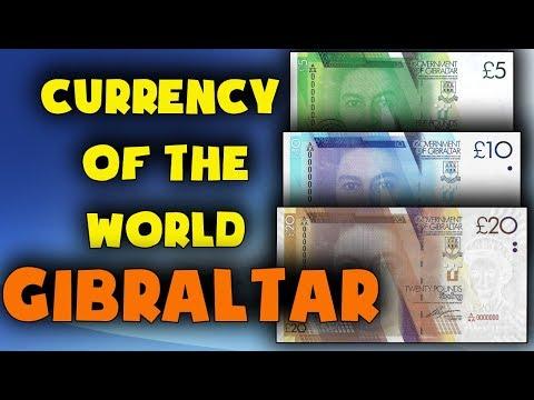 Currency of the world - Gibraltar. Gibraltar pound. Exchange rates Gibraltar. Gibraltar banknotes