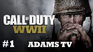Call of Duty WW II Прохождение. Часть 1. День высадки
