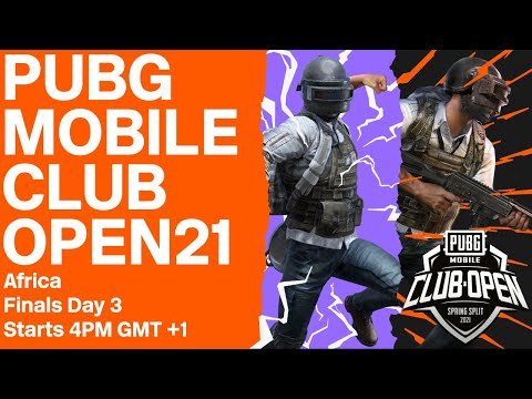 [EN] PMCO Africa Finals Day 3 | Spring Split | PUBG MOBILE Club Open 2021