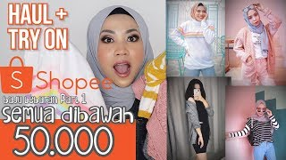 Toko Cardigan Sweater Murah di Shopee/Unboxing Shopee Haul+Review | BAJU LEBARAN PART 1