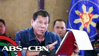 WATCH: President Duterte addresses the nation on coronavirus actions   ABS-CBN News