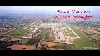 10 größten Flughäfen Deutschlands