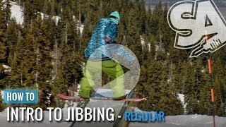 How To Boardslide On A Snowboard (Regular)