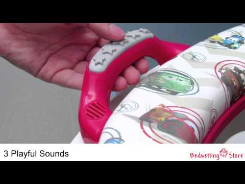 Bedwetting Store: Cars Deluxe Sounds Potty Seat