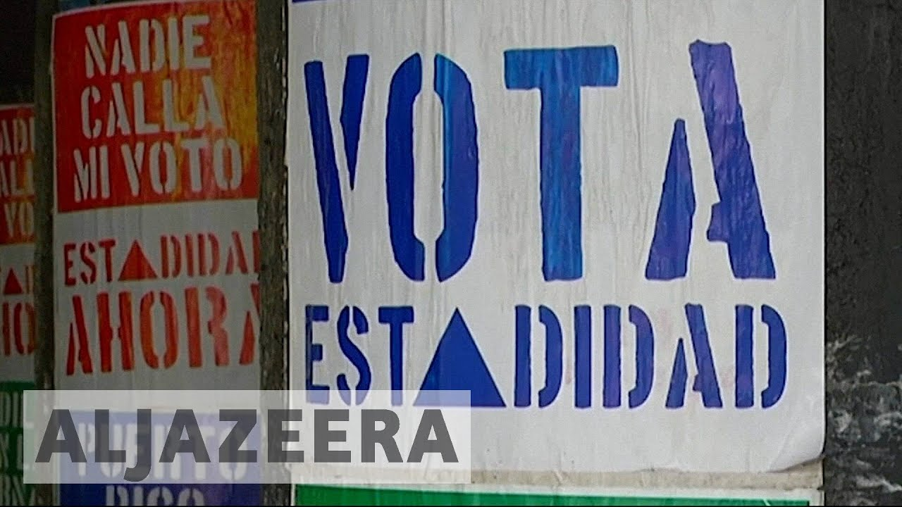 (Some) Puerto Ricans vote for US statehood