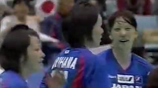 ハンドボール 日韓定期戦 2009 女子
