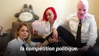 Les Pussy Riot expliquent pourquoi elles ont envahi le terrain pendant France-Croatie