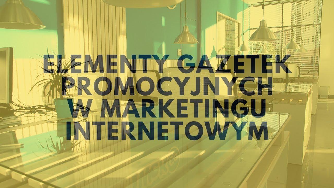 Jakie Mechanizmy Gazetek Promocyjnych Wykorzystać W Marketingu Internetowym?   Tomasz M. Pietrzak