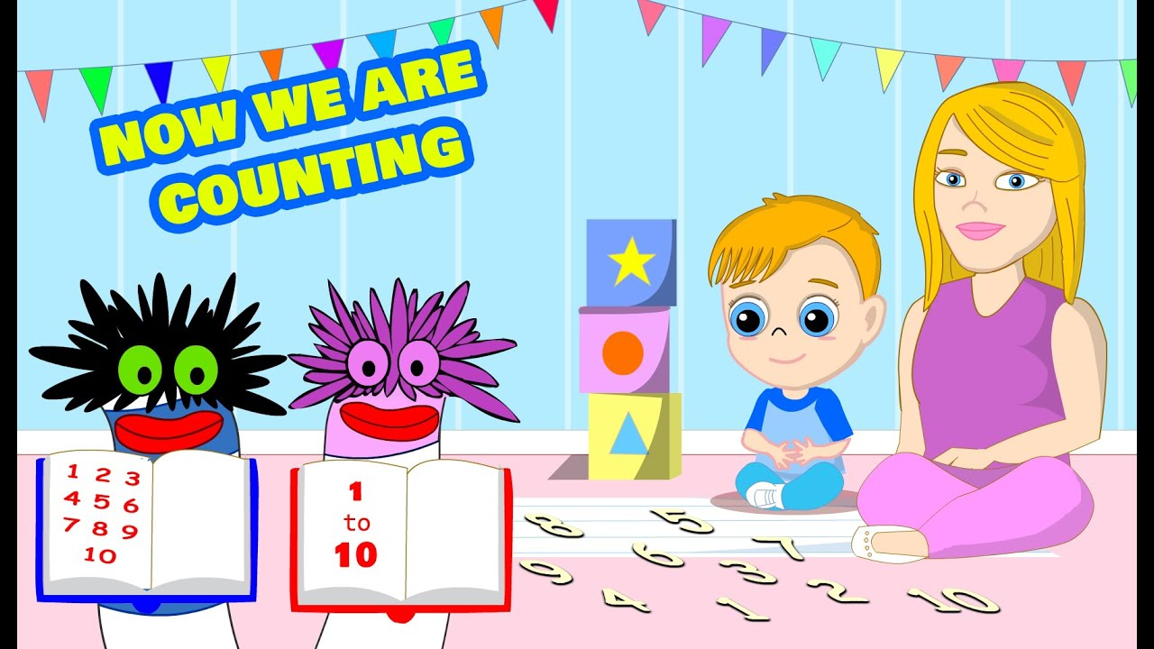 Now We are Counting with Fizzy Song - Learn to Count