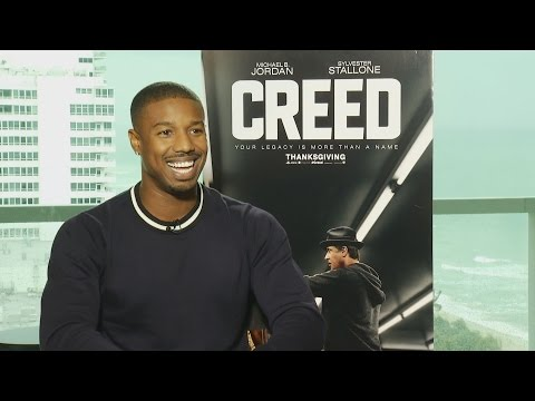 Michael B. Jordan's CREED workout and diet, what he learned from Stallone, more