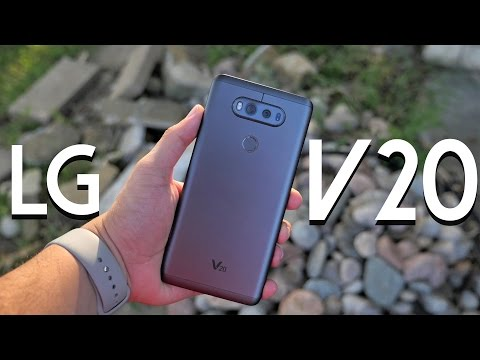 LG V20: Hands-On & First Impressions!