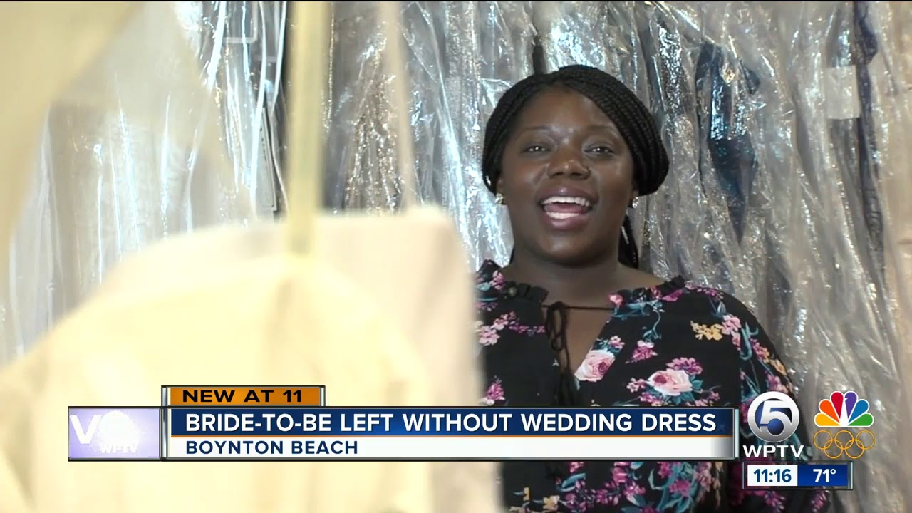 Bride To Be Left Without Wedding Dress