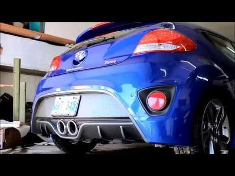 Hyundai Veloster Turbo Stock vs Hyundai Performance Exhaust