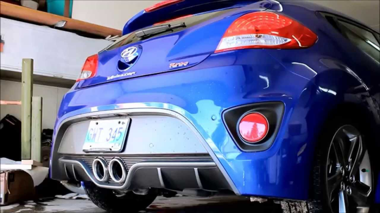 Hyundai Veloster Turbo Stock Vs Hyundai Performance