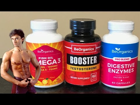 OMEGA 3 FISH OIL, TESTOSTERONE BOOSTING & DIGESTIVE ENZYME SUPPLEMENTS | Fit Now with Basedow