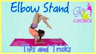 how to do an elbow handstand