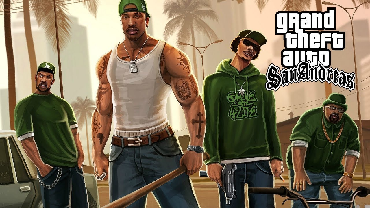 Ice Cube, Snoop Dogg, 2Pac - GTA San Andreas (2019 Grand Theft Auto Music Video)