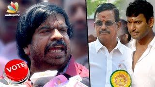 Council member wants REAL producers not REEL : T Rajendar, KR, SV Sekar Speech | Election 2017