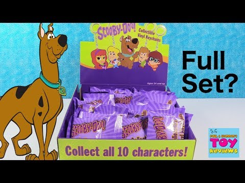 Scooby Doo Collectible Vinyl Keychains Blind Bag Toy Review   PSToyReviews