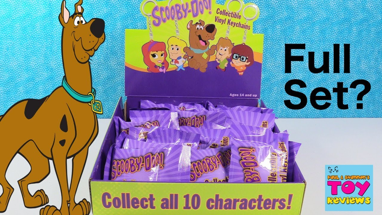 Scooby Doo Collectible Vinyl Keychains Blind Bag Toy