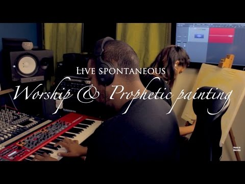Home in Worship-Live spontaneous worship & Prophetic painting