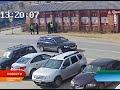 Камера видеонаблюдения зафиксировала погоню и задержание грабителя в Нарьян-Маре