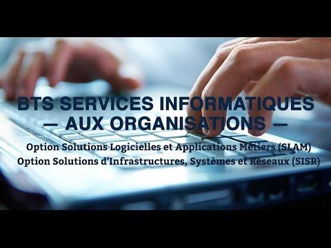 Bts Services Informatiques Aux Organisations Option Sisr