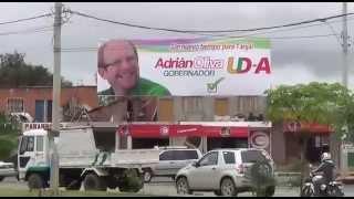 Caravana de la Victoria. Adrian Oliva Gobernador